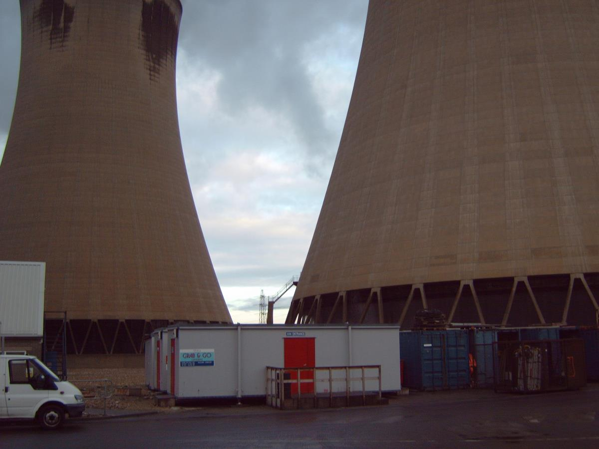 On Site Kitchen Rentals Ltd Drax Power Station